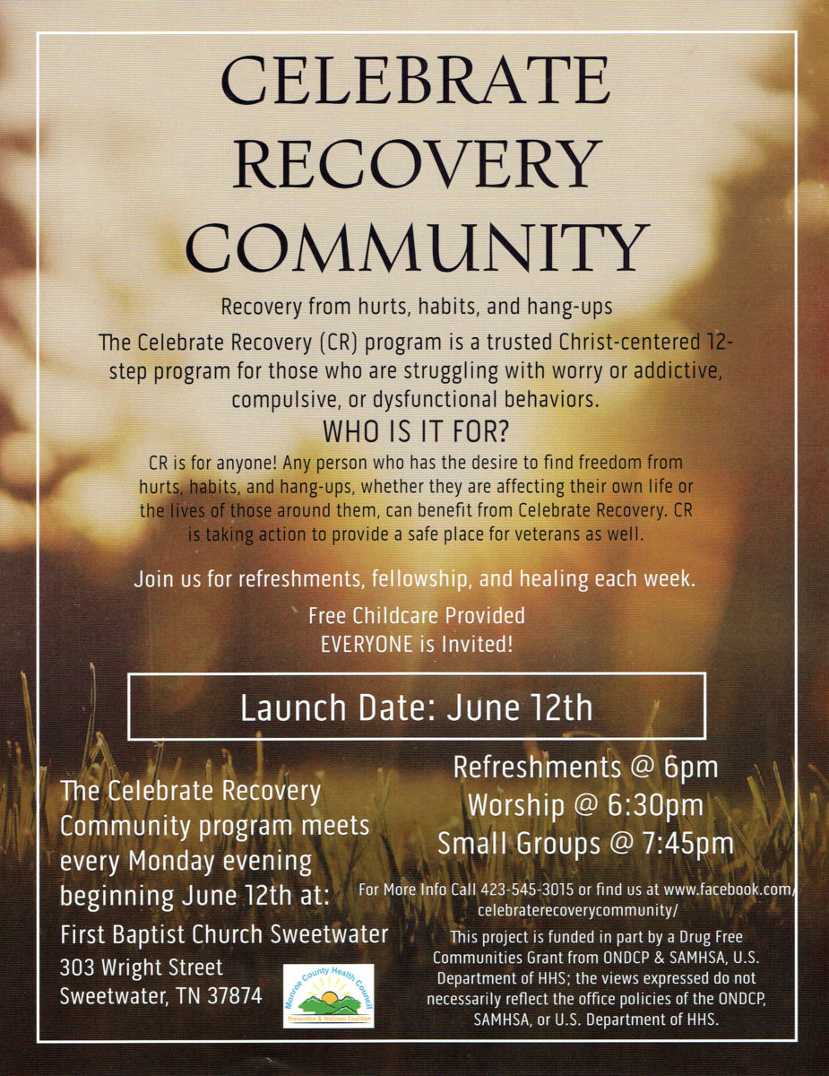 Celebrate recovery dating